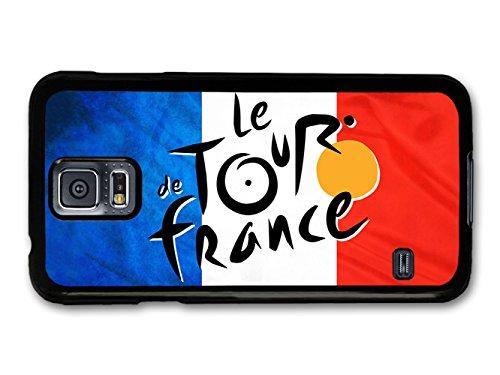 The Tour de France Bicycle Race Sport French Flag hülle für Samsung Galaxy S5 (Tour De France Flag)