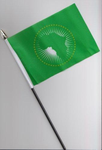 Afrikanische Union AU Hand Flagge 25cm