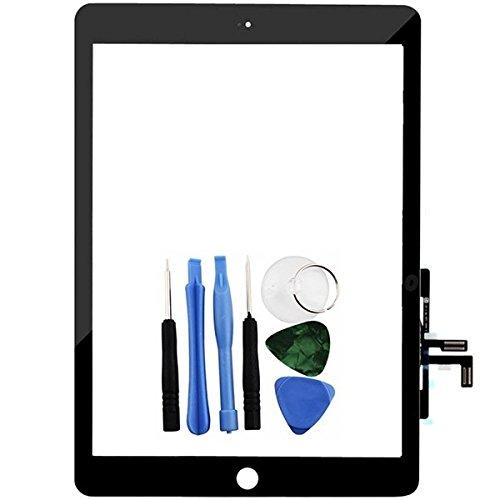 Ipad 5-screen-ersatz (BisLinks® Schwarzer Touchscreen Digitalwandler Frontglas Linse Ersatz für iPad Air 5)