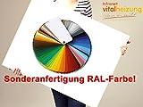 Sonder RAL-Farbe für Vitalheizung Heizpaneele der Serien deluxe & TD Eco