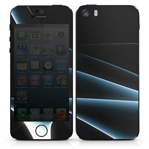 Apple iPhone 4 Case Skin Sticker aus Vinyl-Folie Aufkleber Rauch Nebel Muster DesignSkins® glänzend
