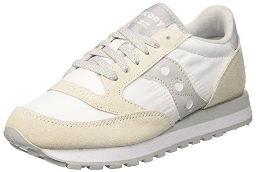 Saucony Saucony Jazz Original Men Herren Sneakers Multicolore (White/Grey)