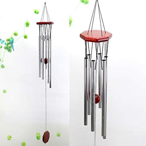 Gaddrt Good Luck Windspiel, Aluminium-Röhren, hängend, ideal für Zuhause, Außenbereich, Garten, Hof, Dekoration