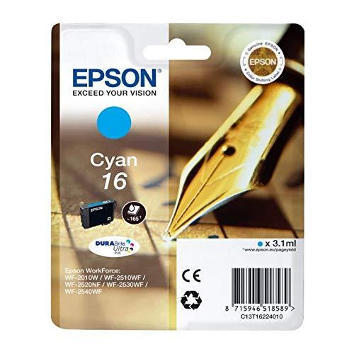 Epson C13T16224022 Inchiostro, Ciano
