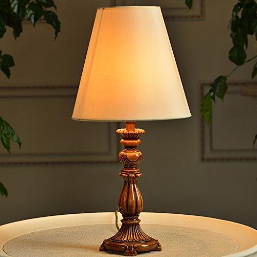 Ywyun Europäische sparende LED-Lampen, Gartenbett kreative Beleuchtung einfach und modern Schlafzimmer Wohnzimmer, ein Harzmaterial, 52 * 25cm