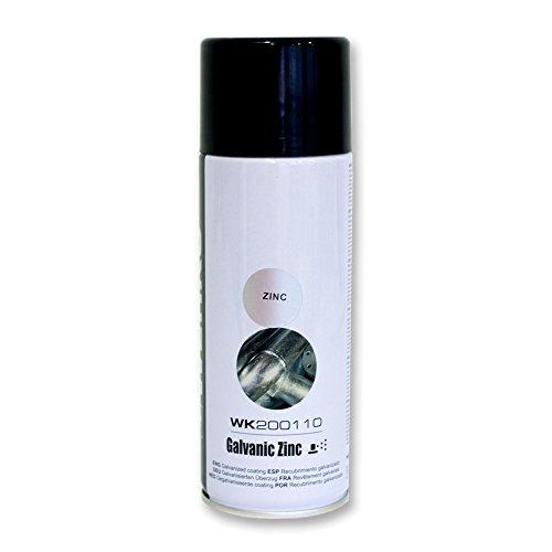 Werku Wk200110 - Spray recubrimiento galvanizado / 400 ml