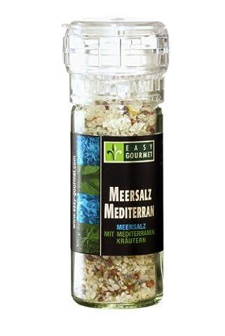 Easy Gourmet Meersalz Mediterran Gewürzmühle, 1er Pack (1 x 85