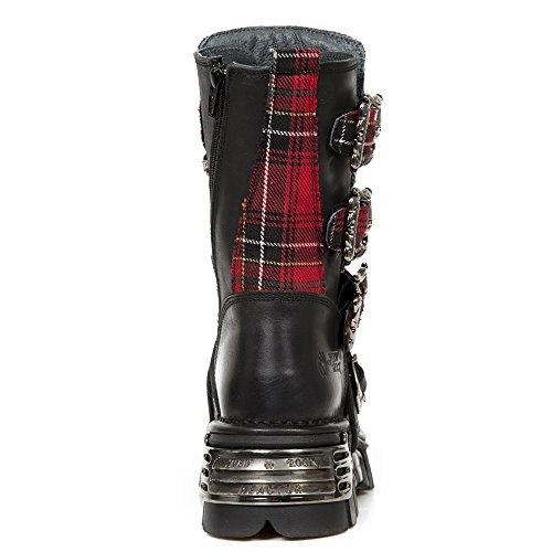 New Rot M 391t s1 Rock Red Black Stiefel Metallic rpw6Zqr