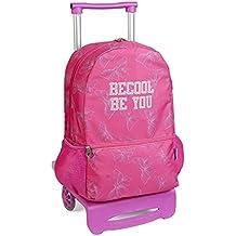 mochila escolar carro ruedas BECOOL by DIS2