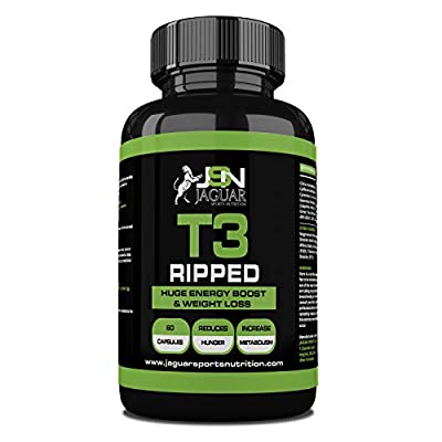 JSN T3 Ripped Extreme Fat Burner (60 CAPS) ECA from Suppleform