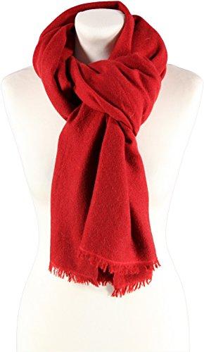 Passigatti Damen Schal Rot One Size (Cashmere-sakko)