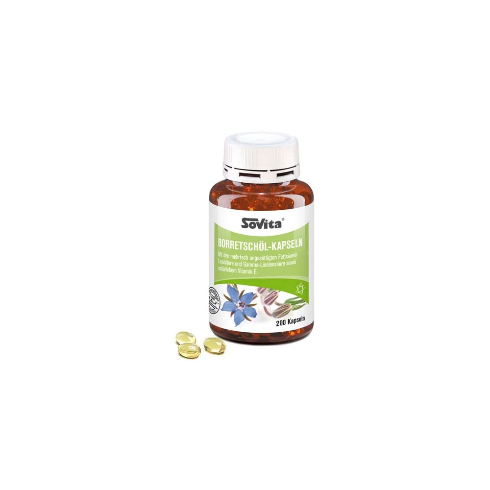 Borretschl Kapseln Mit Vitamin E Ascopharm 200 Kapseln