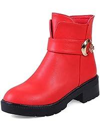 d785aae0 HOESCZS a estrenar Tallas Grandes 32-43 Zapatos de Mujer Mujer Botas  Occidentales Moda Botines