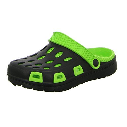 Sneakers KL1860 Unisex Kinder Badeschuhe Schwarz (Schwarz)