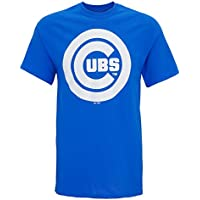 American Sports Merchandise Men's Official Chicago Cubs Logo Royal T-Shirt
