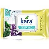 Kara Face Wipes, Seaweed and Lavender (30 Pulls)