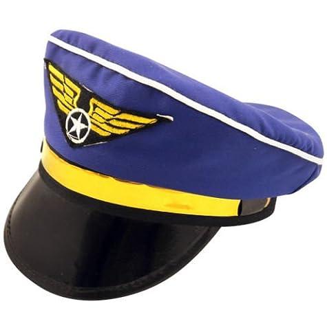 Airline Pilot Costume De Déguisement - PILOT CASQUETTE DÉGUISEMENT AIRLINE CHAPEAU DE CAPITAINE