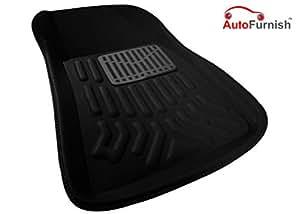 Autofurnish 3D Car Floor Mats (Black) Complete Set for Maruti Suzuki Swift ?