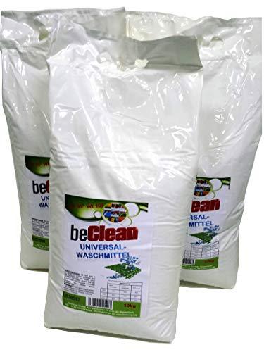 Waschpulver beClean 3x10kg im Sack
