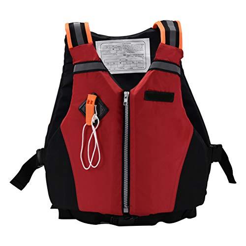 Phayee Schwimmwesten Erwachsener Sports Schwimmweste Survival Vest mit Pfeife und Reflexstreifen zum Tauchen Schwimmen,Dynamic Paddle