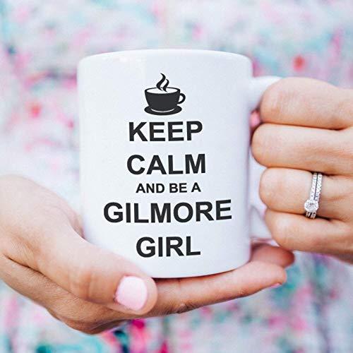 Gilmore Girls Tasse mit Spruch