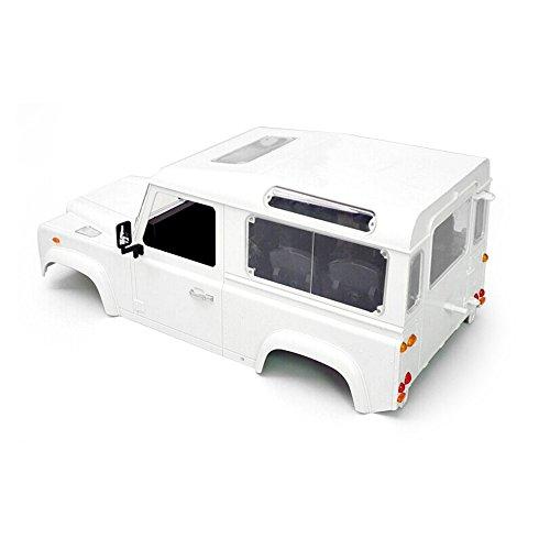magideal-juegos-de-rc-rock-crawler-110-land-rover-defender-d90-coche-blanco-cuerpos-shell-diy