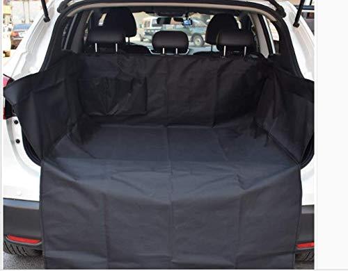 ALLKing®Auto Kofferraumschutz mit Seitenschutz Transporttasche-strapazierfähige Kofferraumschutzdecke wasserdicht für Hunde (185 x 105 x 35)