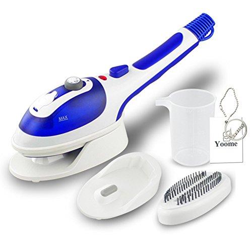 Hierro Vapor portátil Yoome Plancha para Ropa Soleplate cerámica Vapor con voladura y botón de Temperatura Ajustable y cepillos Accesorios