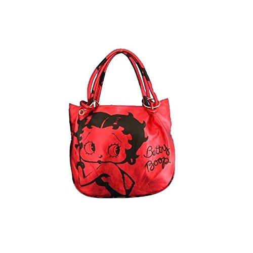 Betty Boop - Handtasche, modisch, Rot