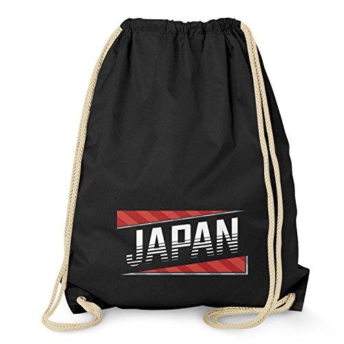 Texlab Team Japan - Turnbeutel, schwarz