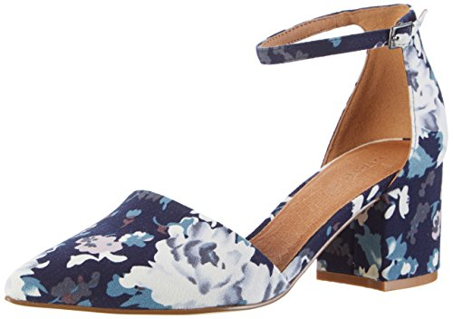 Bianco Damen Devided Pump 24-49252 Pumps, Blau (Navy Blue), 38 EU