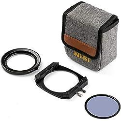 Porte Filtre NiSi M75 Système 75mm avec Filtre polarisant CPL NC Landscape pour Appareil Photographique Hybride
