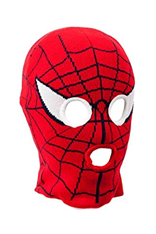 IMTD Boys Kids Spiders Web Design 3 Hole Balaclava Ski