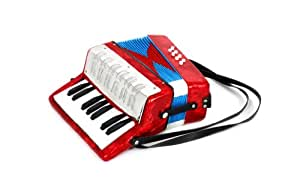 Mgm - 601512 - Instrument À Vent - Ws Accordéon Enfant - 17 Touches