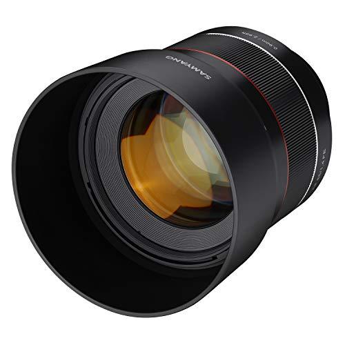 Samyang AF 85mm F1.4 Sony FE - 85mm Portrait Festbrennweite Autofokus Vollformat Objektiv für Sony Alpha spiegellose Systemkameras, Vollformat und APS-C Kameras mit Sony E Mount, FE Mount
