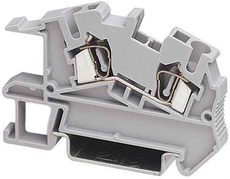 Phoenix Contact Inst.-Etagenklemme STI 2,5 0,08-4qmm B=5,2mm gr Durchgangs-Reihenklemme 4017918810924
