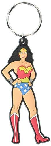DC Comics Justice League Wonder Woman Soft Touch PVC Llavero
