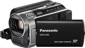 Panasonic SDR-H100 Camescopes Classique Zoom Optique 78 x 0.8 Mpix 80 Go