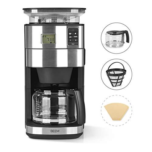BEEM FRESH-AROMA-PERFECT II Filterkaffeemaschine mit Mahlwerk,  1,25 l, 1000 W