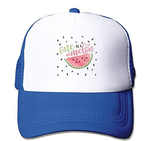 Uosliks EIN in Einer Melone Unisex Peake Baseball Caps Erwachsenen Mesh Rock Hats einstellbare Snapback