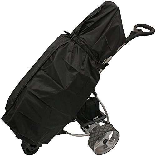 Clubbers Black Universal Waterproof Golf Trolley Rain Cover Cart Accessories