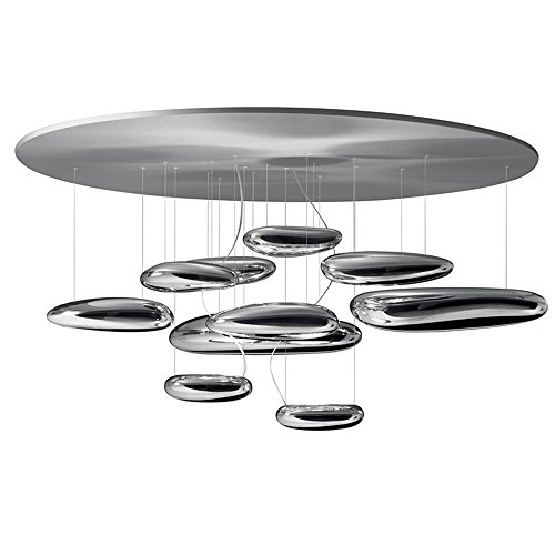 Artemide Mercury Deckenleuchte, LED 29W, chrom/Stahl