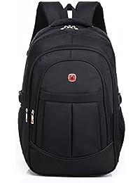 4d58ea41c2 DeLamode Men Swiss Army Knife Notebook Backpack Double Shoulder Travel  Student Bag