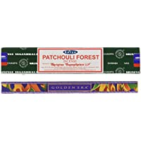 Satya Räucherstäbchen PATCHOULI FOREST (Waldpatschuli) 15 g preisvergleich bei billige-tabletten.eu