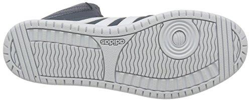 adidas Vs Hoops Mid, Chaussures de Sport Homme Bleu - Azul (Onix / Ftwbla / Ftwbla)