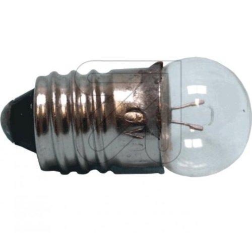 Ersatz 10 Stück Kugellampe E10 3,5V 0,2 A Glühlampe Glühbirne Klar Appliance Glühbirne