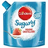 CANDEREL - Sugarly – Edulcorant – Poudre Cristallisée à base de Sucralose - le Gout du Sucre Sans Calorie - Sans Aspartame – Doypack 250 g - Lot de 2