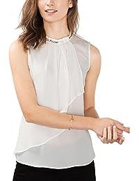 ESPRIT Collection Damen Bluse 116eo1f033