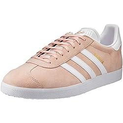 adidas Gazelle, Zapatillas de deporte Unisex Adulto, Varios colores (Vapour Pink/White/Gold Metalic), 42 EU
