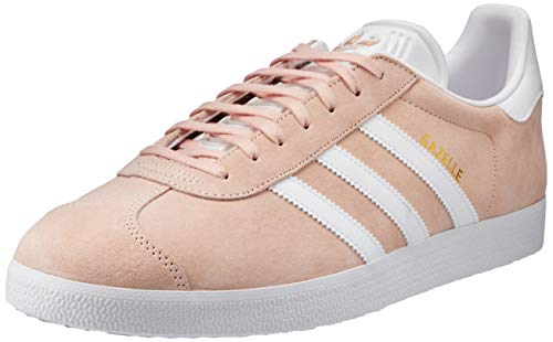adidas Gazelle, Sneakers basses mixte adulte, Bleu (Collegiate Navy/White/Gold Met), 42 2/3